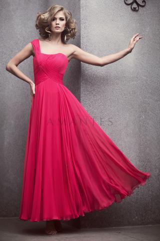платье из шифона в греческом стиле.