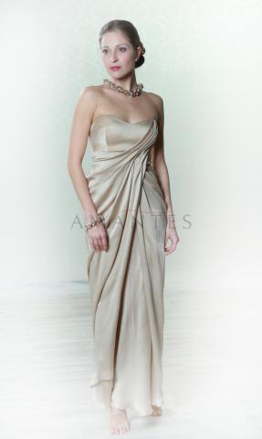 платье вечернее в греческом стиле
