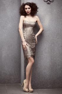коктейльное платье -футляр