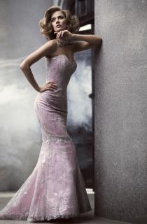 вечернее платье русалочка