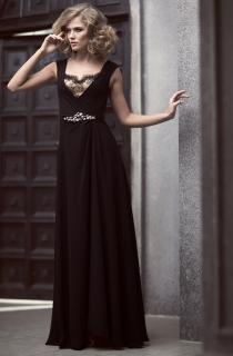 платье вечернее из шифона